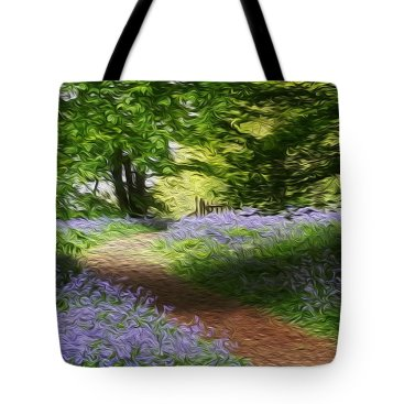 blue-bell-wood-journey-to-the-gate-vincent-franco tote
