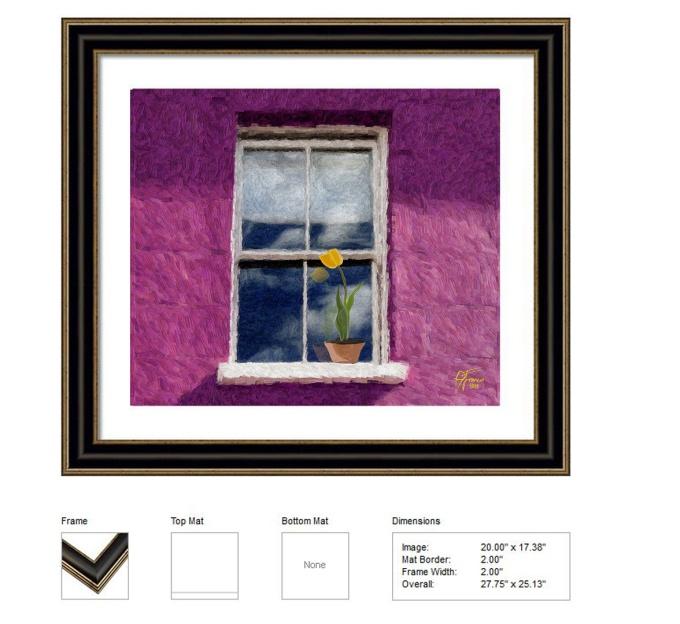 mockup lovers window