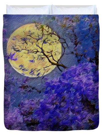 twilight-under-jacaranda-trees-vincent-franco duvet